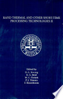 Rapid Thermal and Other Short time Processing Technologies II