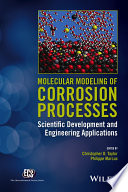 Molecular Modeling of Corrosion Processes Book