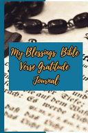 My Blessings Bible Verse Gratitude Journal