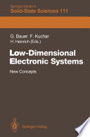 Low-Dimensional Electronic Systems