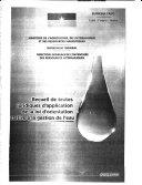 Recueil de texte juridiques d'application de la loi d'orientation elative a la gestion de l'eau