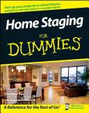 Home Staging For Dummies [Pdf/ePub] eBook