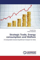 Strategic Trade  Energy Consumption and Welfare