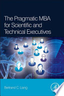 The Pragmatic Mba For Scientific And Technical Executives Book PDF