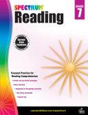Spectrum Reading Workbook, Grade 7 [Pdf/ePub] eBook