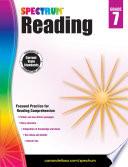 """Spectrum Reading Workbook, Grade 7"" by Spectrum"