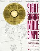 Sight Singing Made Simple