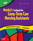 Mosby S Textbook For Long Term Care Nursing Assistants Workbook