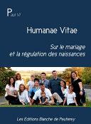 Humanae Vitae Pdf/ePub eBook