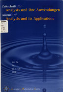 Journal Of Analysis And Its Applications