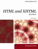New Perspectives on HTML and XHTML  Introductory
