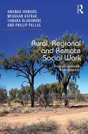 Rural, Regional and Remote Social Work
