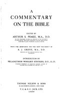 A Commentary on the Bible