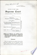 State of New York Supreme Court Appellate Divison Third Department