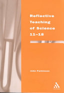 Reflective Teaching of Science 11 18