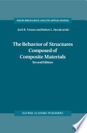 The Behavior of Structures Composed of Composite Materials Book