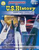 Jumpstarters for U S  History  Grades 4   8