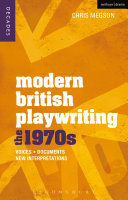 Modern British Playwriting: The 1970s