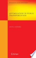 Optimization in Public Transportation