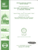The Corps  Environmental Effects of Dredging Programs