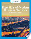 Essentials of Modern Business Statistics with Microsoft Excel Book