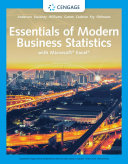 Essentials of Modern Business Statistics with Microsoft Excel