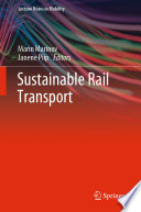 Sustainable Rail Transport Book