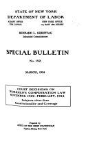 Special Bulletins