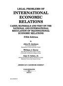 Legal Problems of International Economic Relations
