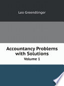 Accountancy Problems with Solutions