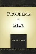 Problems in SLA