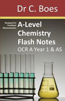 A Level Chemistry Flash Notes OCR A Year 1   AS