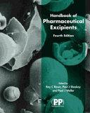 Handbook of Pharmaceutical Excipients Book
