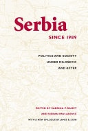 Pdf Serbia Since 1989 Telecharger