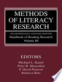 Methods of Literacy Research