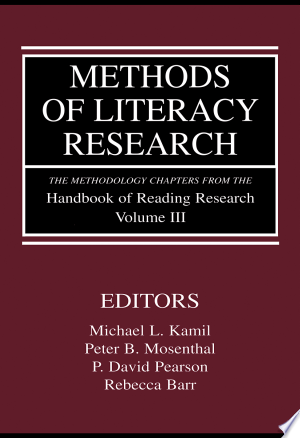 Download Methods of Literacy Research Free Books - E-BOOK ONLINE