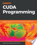 Learn Cuda Programming Book PDF
