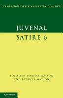 Juvenal: Satire 6