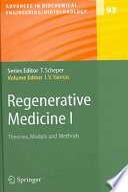 Regenerative Medicine I