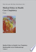 Medical Ethics In Health Care Chaplaincy