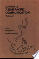 Journal Of Asian Pacific Communication