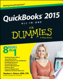 Quickbooks 2015 All In One For Dummies