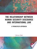 The Relationship Between Human Security Discourse And International Law