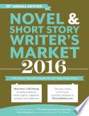 Novel   Short Story Writer s Market 2016