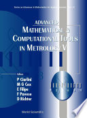 Advanced Mathematical and Computational Tools in Metrology V