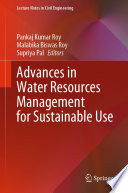 Advances in Water Resources Management for Sustainable Use Book