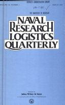 Naval Research Logistics Quarterly