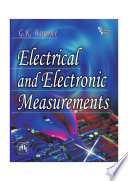 ELECTRICAL AND ELECTRONIC MEASUREMENTS Book
