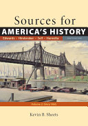 Sources for America's History, Volume 2