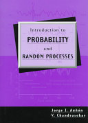 Introduction To Probability And Random Processes Book PDF